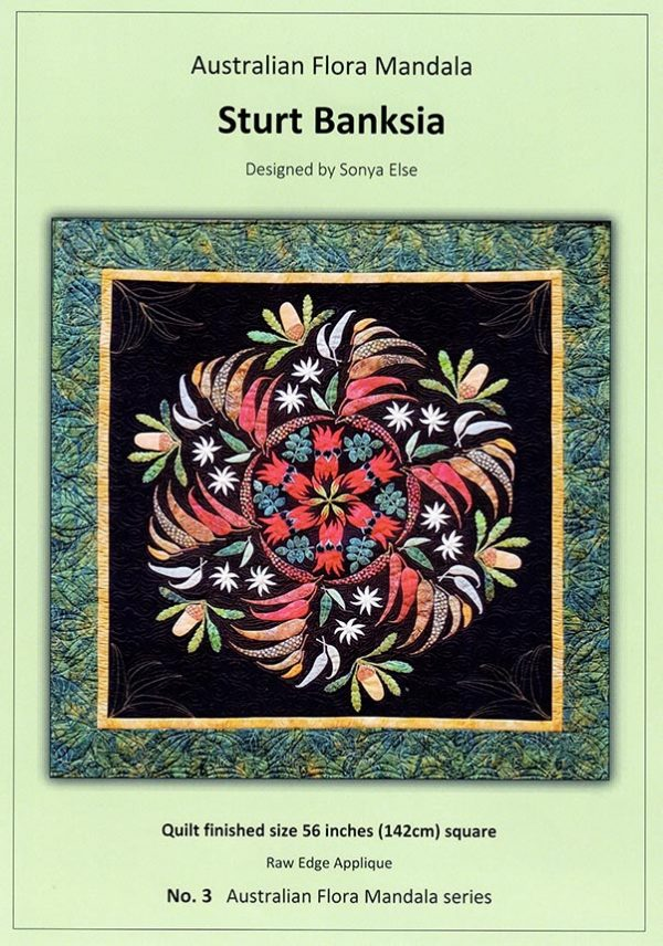 Sonya Else - Sturt Banksia Quilt